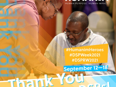 Direct Support Professionals Recognition Week 2021